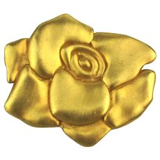 Not Your Ordinary Rose Pin Brooch - Big Bold Flower