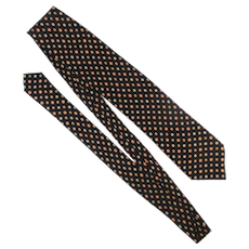 BRIONI Italian Hand Made Silk Tie Long Lux Print Necktie
