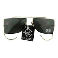Vintage Linda Farrow of London Retro Sunglasses Unworn w/ Tag Unisex