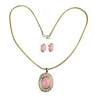 Vintage TRIFARI Necklace - Earrings Set