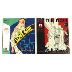 Art Deco 2 Peter Driben Book Cover Proofs Pin-Up Girls