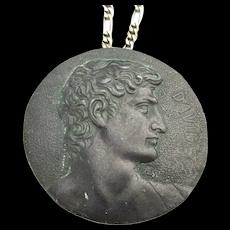 Medallion Pendant Necklace DAVID by Michelangelo