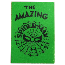 1966 Marvel AMAZING SPIDERMAN Mini Comic Book Smallest Ever