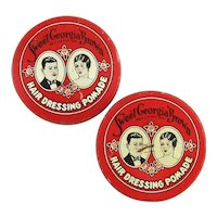 Mini Valmor Sweet Georgia Brown Hair Pomade Sample Tin Tins