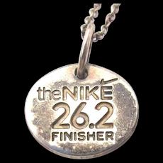 Tiffany & Co. NIKE S.F. Women's Marathon Finisher Necklace Sterling Silver