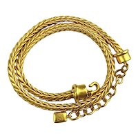 Richly Golden GIVENCHY Thick Heavy Necklace Chain
