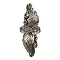 Vintage Navajo Sterling Silver Ring Signed ~ P ~
