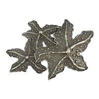 Massive Mimi di N Niscemi STARFISH Cluster Belt Buckle - Pendant
