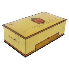 Art Deco GILBERT Chocolates Tin Litho Box