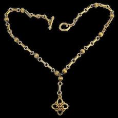 Vintage Oscar de La Renta ~ O ~ Logo Necklace