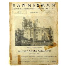 WWII 1945 BANNERMAN Military Goods Catalog - Great Reference Book