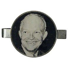 Original 1953 I LIKE IKE Flicker Tie Clasp - Dwight Eisenhower