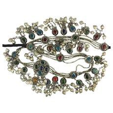 Big Fantastic Jeweled Exotic Belly Dancing Belt Necklace