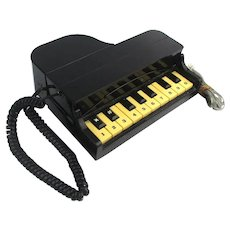 Figural 1980s PIANO Telephone Columbia Landline - Works