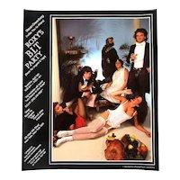 Rare 1970s ROXY Disco Celeb Photo BLT Party Invitation