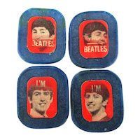 Rare Original Vintage 1960s BEATLES Flicker Ring Set Rings