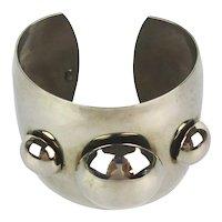Modernist HOBE Wide Cuff Bracelet