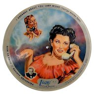 1946 Vogue Picture Record I Dreamed About You Last Night Telephone Girl