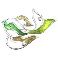 Givenchy Modernist Enamel Fish Pin