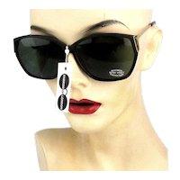 Vintage Linda Farrow of London Retro Sunglasses Unworn w/ Tag