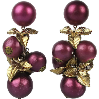 Are Those Eggplants on Your Ears Dangle Earrings