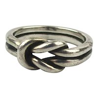 Original James Avery Sterling Silver Knot Ring