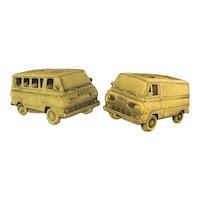1960s Vintage Ford Van Cufflinks Salesman Award