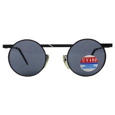 Retro Linda Farrow of London Round Sunglasses Unworn w/ Tag Unisex