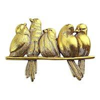 Multilana Birds on a Branch Pin Brooch - Art Institute of Chicago