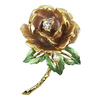 Graziano 1997 Commemorative Princess Diana England's Rose Pin
