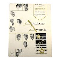 Vintage Academy Awards Best Actor/Actress 1928-1961 Portraits By Nicholas Volpe
