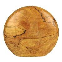 Loaf of Wood Sculpture Bud Vase - Signed