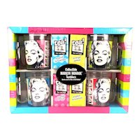 Set Vintage Marilyn Monroe Drinking Mugs Tumblers Mint in Box