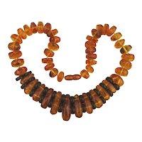 Superb Big Genuine AMBER Bead Necklace 112 Grams