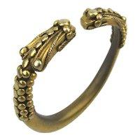 Metropolitan Museum of Art MMA Chinese Dragon Heads Bracelet