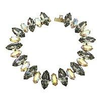 Really Nice Vintage Crystal Rhinestone Bracelet
