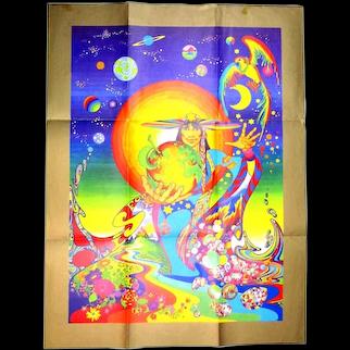 1960s THE FOOL Simon Postuma - Marijke Koger Psychedelic Poster