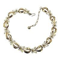 Vintage TRIFARI Rhinestone Link Necklace