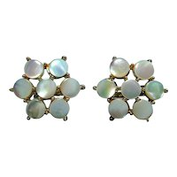 Big Opalescent Mother-of-Pearl Cufflinks