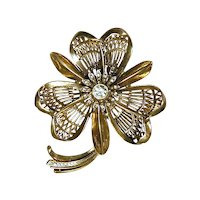 A Great Big Old Flower Pin With Great Big Style