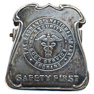Antique Exchange National Bank Advertising Desk Clip