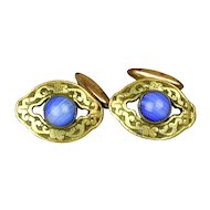Vintage c1920s Signed SANDOW Cufflinks - Handsome Design
