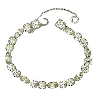 Eisenberg Ice Faux Diamond Rhinestone Bracelet