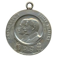 WW1 Germany Military Medal 1813 - 1913 Ernst Ludwig Kaiser Wilhelm
