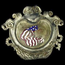1914 Silver on Bronze Plaque Middle States Regatta Association