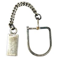 Tiffany & Co. Sterling Silver Keyring Key Ring - 1940s