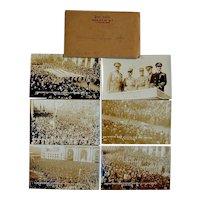 1921 Kansas City American Legion Parade 6 Real Photo Postcards RPPC