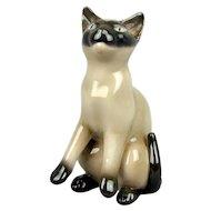 Vintage Bing & Grondahl Siamese Porcelain Cat Figurine 2308