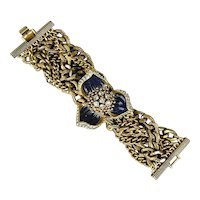 Massive Vintage Bracelet - Over 8 Oz. of Wow Factor - Brace Yourself