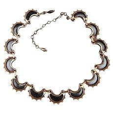 Modernist Sultry Vintage RENOIR Copper Necklace